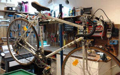 die basis meiner selbstständigkeit sind reparaturen aller fahrräder