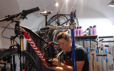ein fahrrad zusammenbauen ist immer etwas besonderes